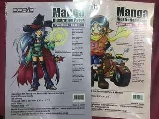 Copic Manga Illustration paper