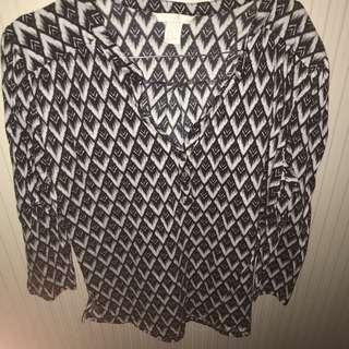 Tribal blouse H&M