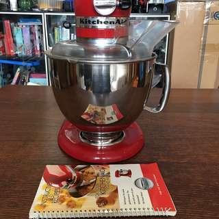 KitchenAid Artisan Stand Mixer (110 volts) + Transformer