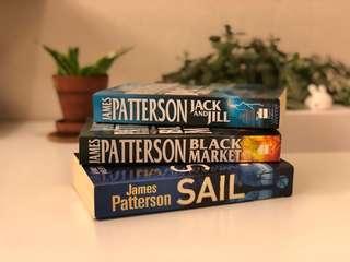 James Patterson - Jack and Jill, Black Market, Sail