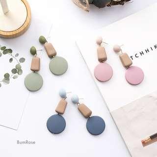 🚚 Pastel Stella Hanging Drop Earrings