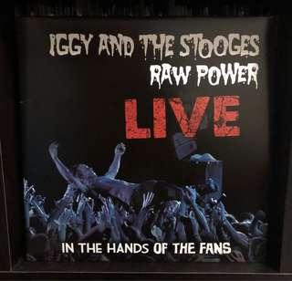 Vinyl: Iggy and the Stooges - Raw Power Live