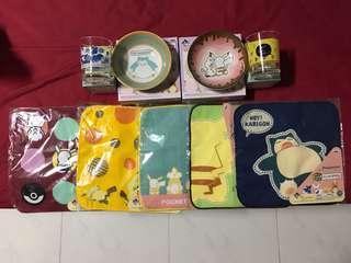(NEW - All for $20) Pikachu & Friends Kuji