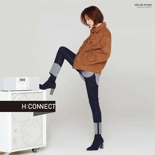 🚚 H:Connect 復古感雙口袋麂皮外套