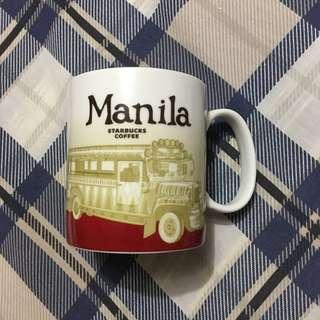 Starbucks Manila Jeepney Icon Mug Collector Series with defects