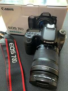 Canon 70D with EF-S 18-135mm IS Kit Lens