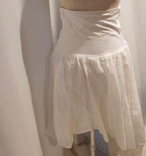 Forever21 garter white skirt