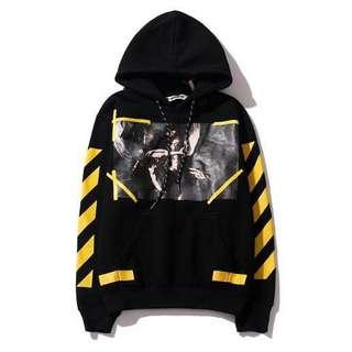 🚚[Pre-order] classic off white printing casual sweater wear