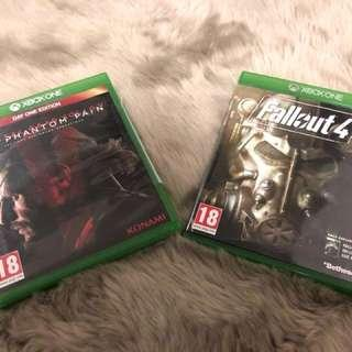 2games XBOX One both15$only