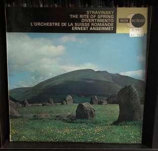 Vinyl: Igor Stravinsky - The Rite Of Spring