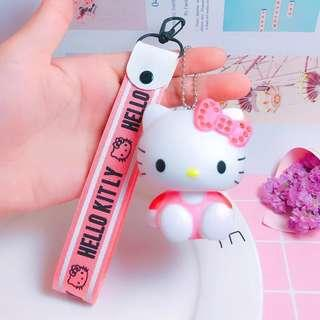 🚚 ✨FLASH SALE! 《instock keychain》sanrio hello kitty + strap