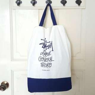 🚚 Stussy Canvas Tote Bag