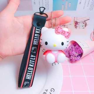 🚚 ✨ FLASH SALE!《instock keychain》sanrio hello kitty + strap