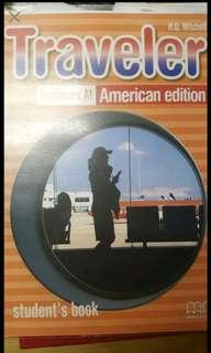 🚚 #我要賣課本 附光碟Traveler beginners A1 American edition H.Q.Mitchell ISBN:9789604439447