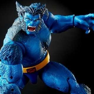 VERY RARE & HOT! *Pre-Order* Hasbro Marvel Legends X-Men Marvel Beast with Caliban BAF part!
