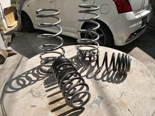 Lowering Spring Suzuki Swift Sport