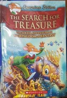Geronimo Stilton Hardbound NEW The Search for Treasure