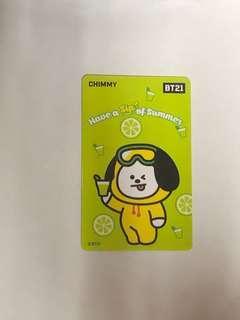 🚚 BT21-CHIMMY一卡通