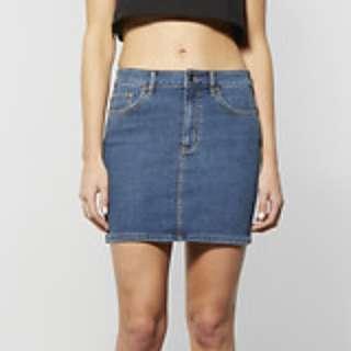 Lee - Denim Mini Skirt - Size 6