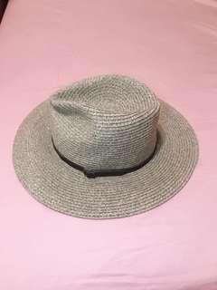 🚚 細皮帶編織草帽