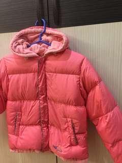 🚚 POLARSTAR 保暖羽絨刷毛連帽外套