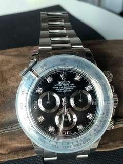 Rolex 白金 石字 Daytona