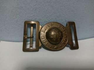 Vintage Boys' Brigade Scout Belt Buckle