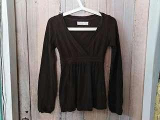 Baju blouse Zara basic