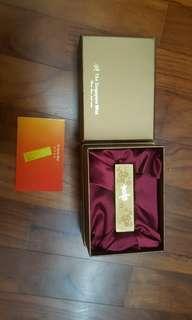 singapore mint replica gold bar