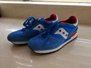 Saucony shadow red/blue (US 9.5)