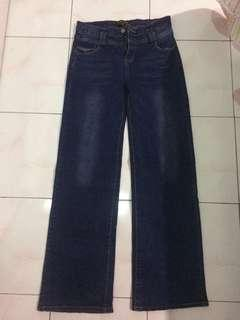 Julie wide leg jeans (dark blue)