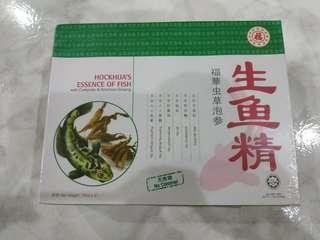 [BNIB] HOCKHUA'S ESSENCE OF FISH with Cordyceps & American Ginseng