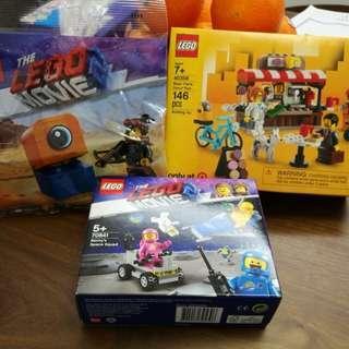 LEGO 70841 + 40358 + 30527 LEGO MOVIE 2 City 全新