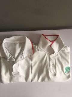 Maha Bodhi red PE tee shirt