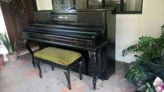 We accept acoustic piano tuning repair and restoration