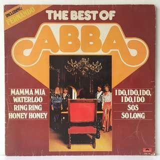 ABBA – The Best Of ABBA (1976 Netherlands Pressing - Vinyl is Mint)