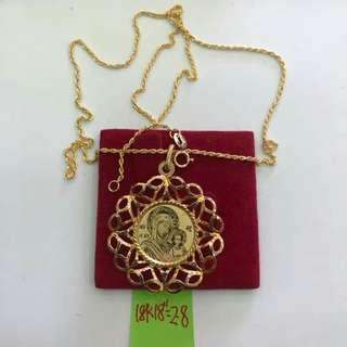18k pawnable gold necklace