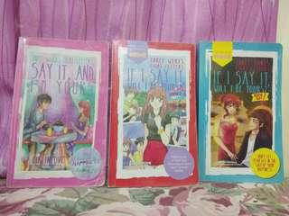 Wattpad Books - If I Say It, Will I Be Yours? Book 1 and Book 2 Part 1 and 2