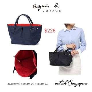 READY STOCK authentic new Agnès B voyage · Tote Bag from Japan