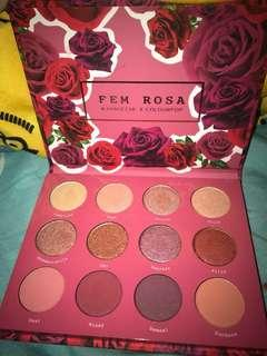 Colourpop FEM ROSA SHE eyeshadow palette 玫瑰色眼影盤