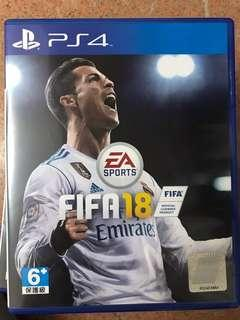 PS4 FiFA 18 games 足球