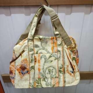 Large Floral Tote Bag / Weekend Bag / Travel Bag 大花花布袋/旅行袋