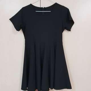 Blogshopping Black Babydoll Dress