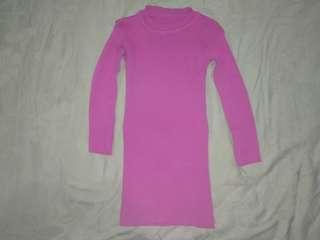 Knit Dress Tebal 4 Tahun