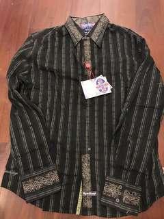 English Laundry (正品) Black & blue Tshirt (M)