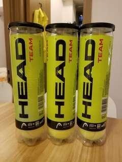 9x Head Brand New tennis ball - never open