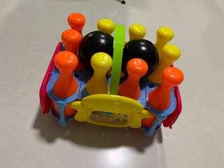 🚚 Bowling set for kids