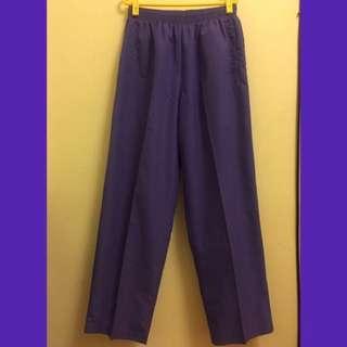 🚚 Senhan 古著紫色長褲