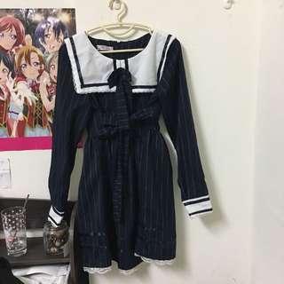 🚚 日系軟妹學院風洋裝