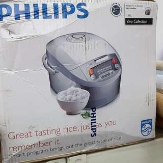 🚚 Philips Rice Cooker 1.8L HD3038